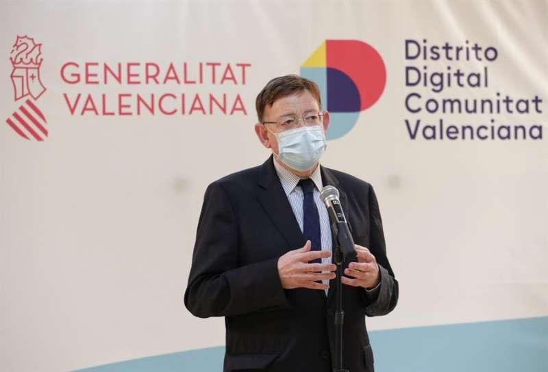 El president de la Generalitat, Ximo Puig, en un acto en Alicante.