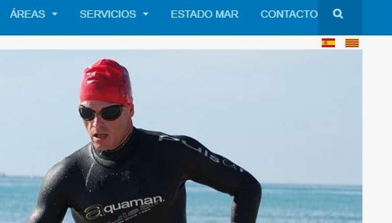 Web municipal del Consistorio. EPDA