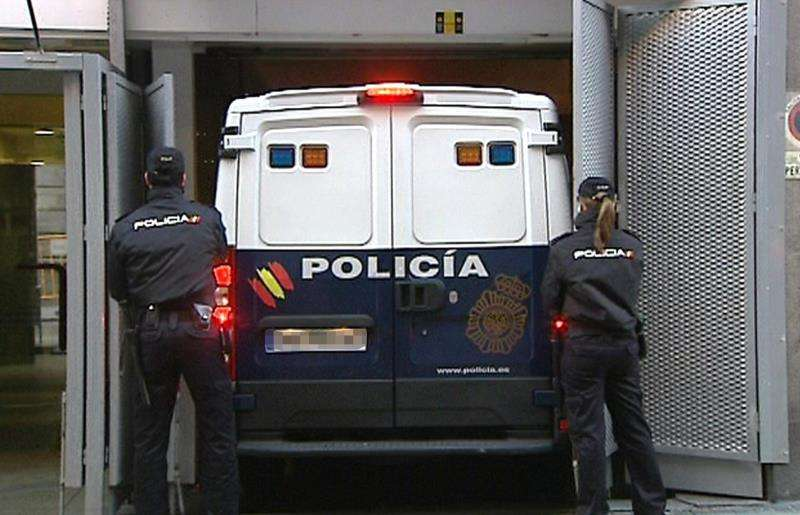 El furgón policial EFE/Archivo