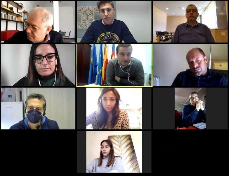 Reunión virtual Peñíscola