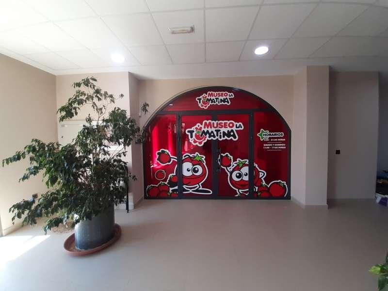 Museo de la Tomatina de Buñol./EPDA