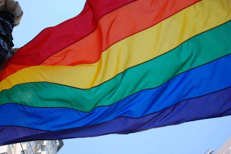 Bandera LGTBIQ+. / Foto archivo EPDA