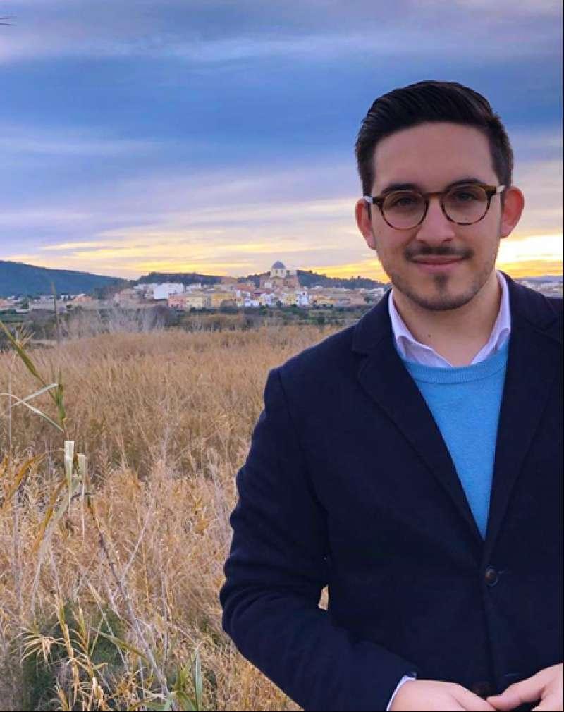 Hector Troyano, candidato del PP de Villamarxant. / EPDA