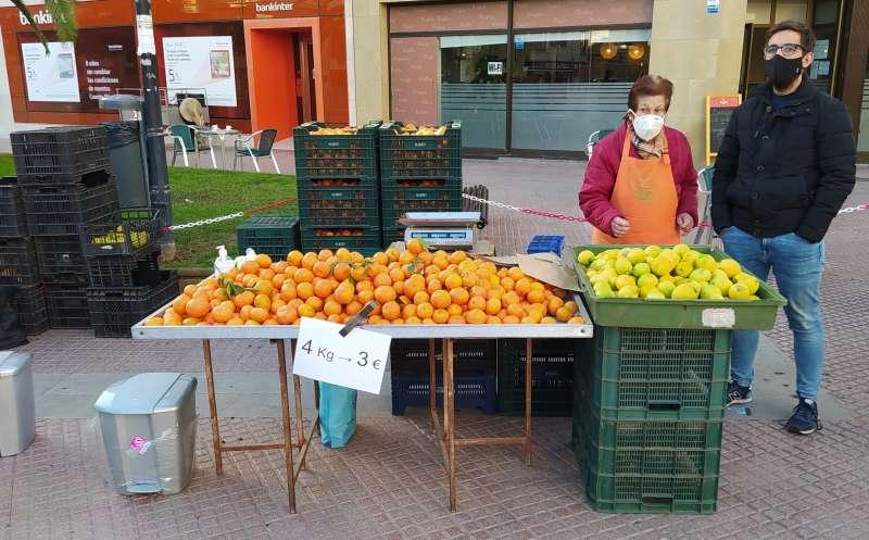 Fernando Navarro en la Fira de la Taronja/EPDA