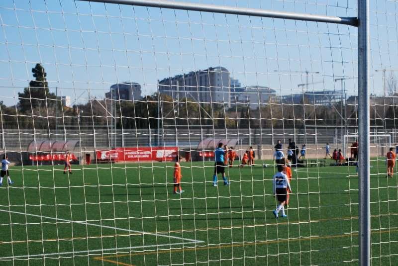 Instalaciones deportivas en Mislata. EPDA