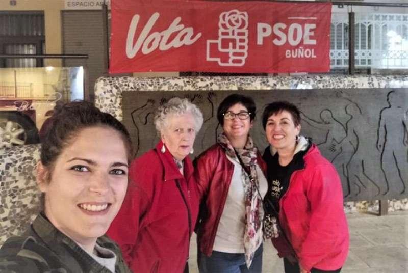 Inicio de campaña en Buñol del PSOE