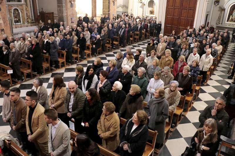 Misa dedicada a la patrona de Puçol. SABÍN