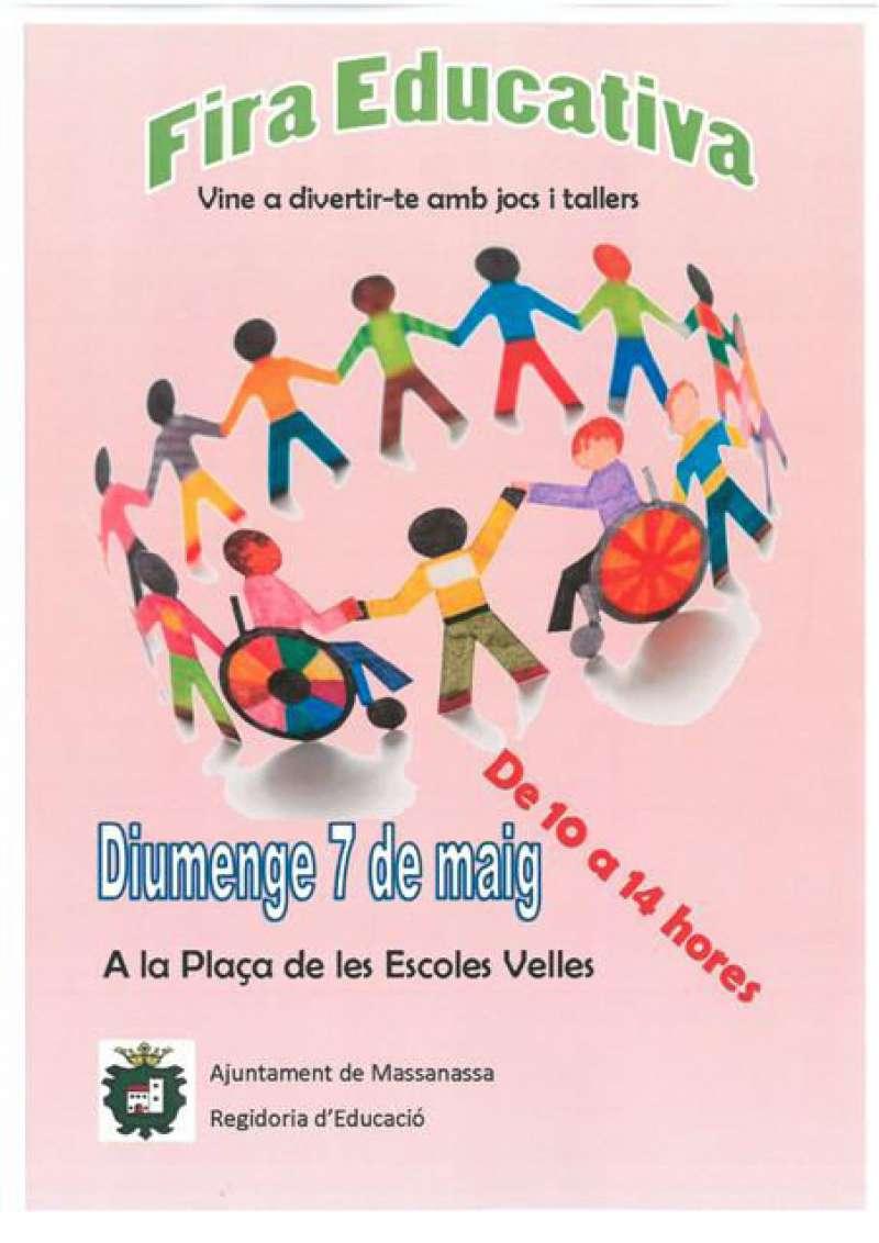 Cartell de la Fira Educativa de Massanassa. EPDA