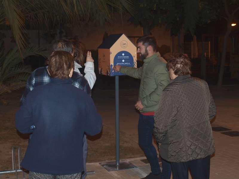 Uno de los 7 buzones instalados en Foios. EPDA