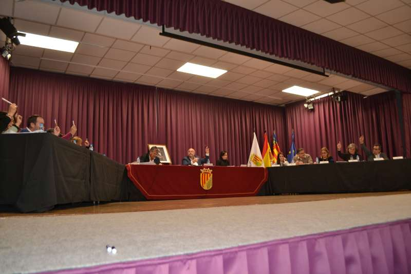 Aprobación del cambio de denominación del Pleno de Nàquera
