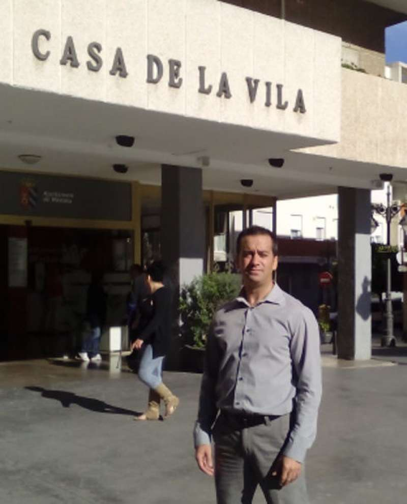 Portavoz de Compromís per Mislata, Javier Gil
