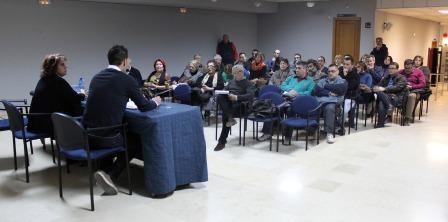 Reunión con las asociaciones. Foto: EPDA.