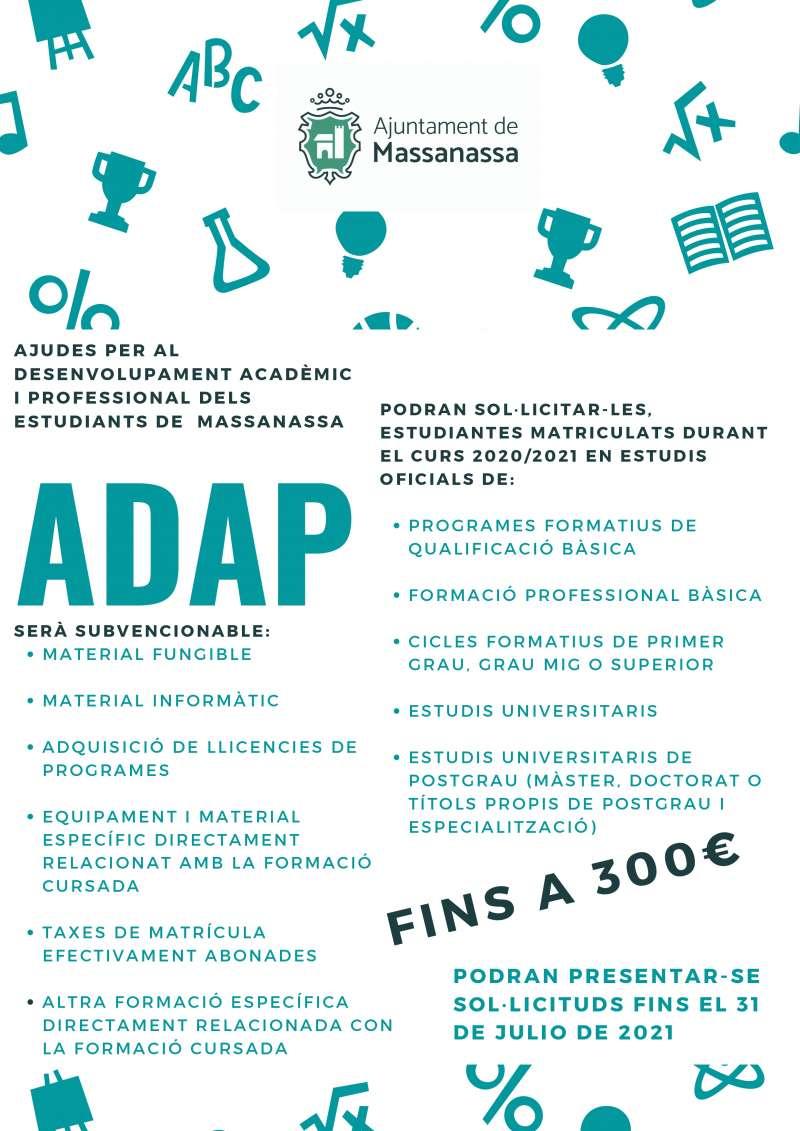 Ayudas ADAP. EPDA