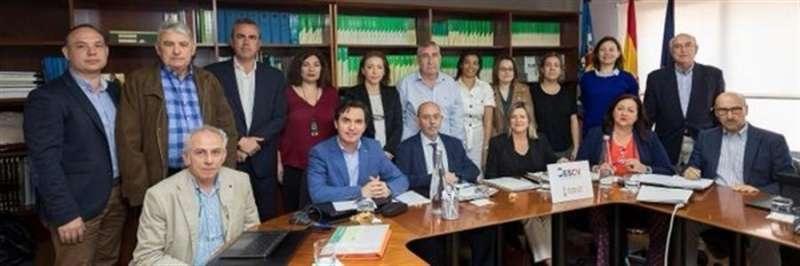 Foto de familia del CES, en su imagen oficial compartida en redes.