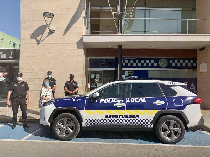 Coche oficial de la Policia Local