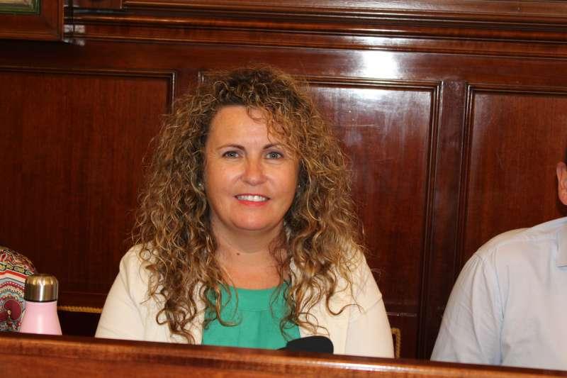 La portavoz de Ciudadanos (Cs) en la Diputación Provincial de Castellón, Cristina Fernández.