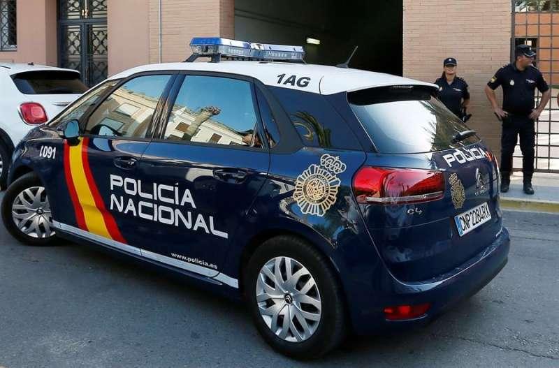 Foto archivo coche Policía Nacional