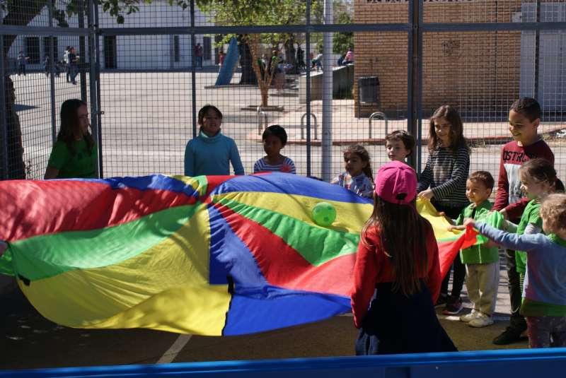 Alumnos del colegio IVAF Luis Fortich de València.