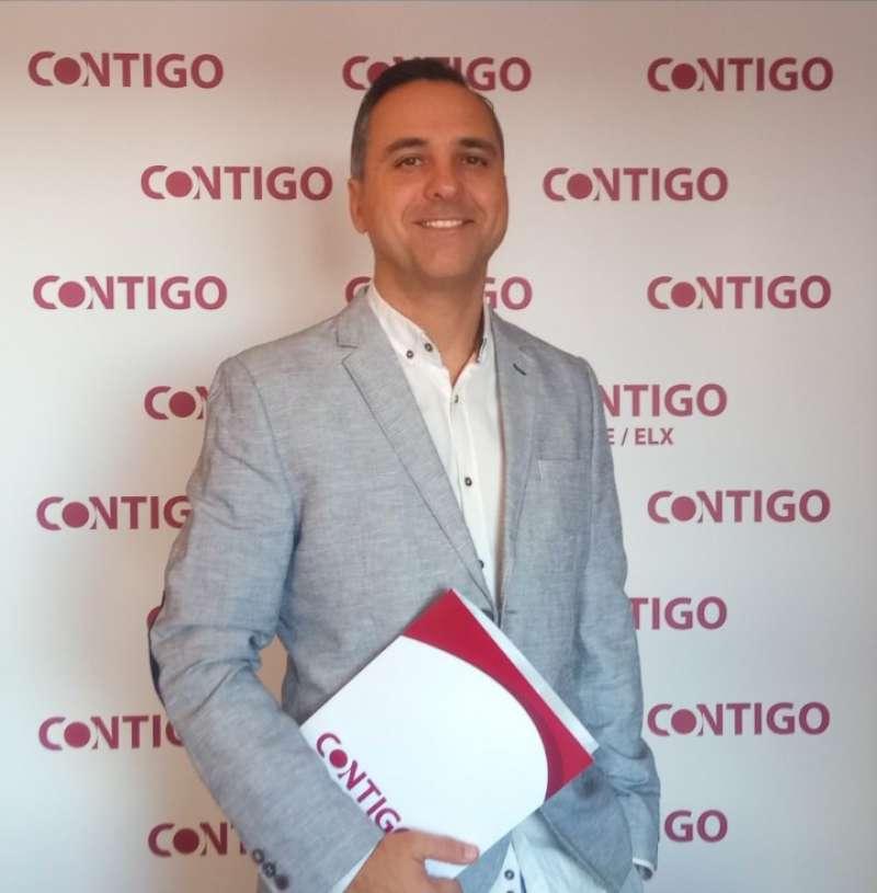 El responsable de Educación de CONTIGO en la Comunidad Valenciana, Carlos San José. EPDA