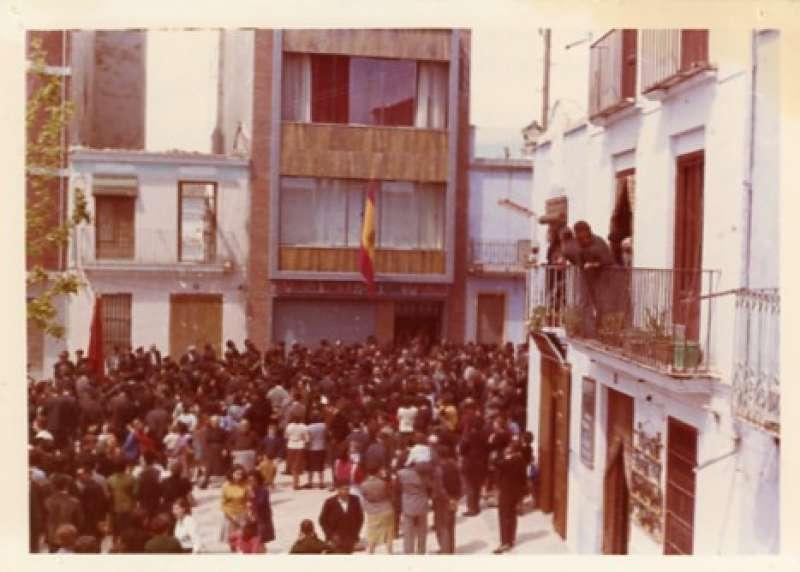 El día de la Inauguración. / Archivo JSM