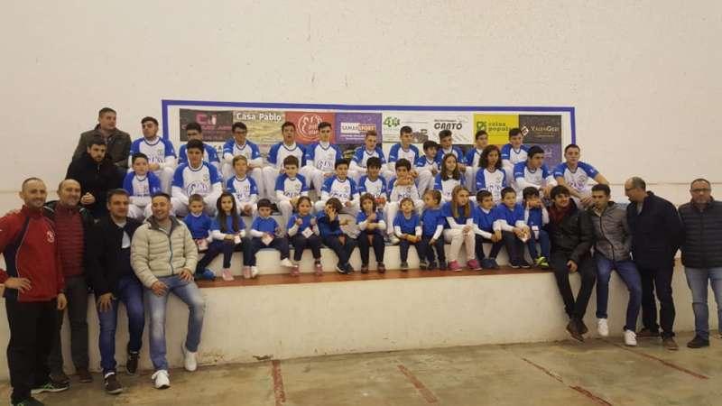 Presentación de los equipos del Club de Massamagrell. EPDA