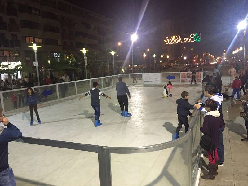 Pista de patinaje a Torrent. //EPDA