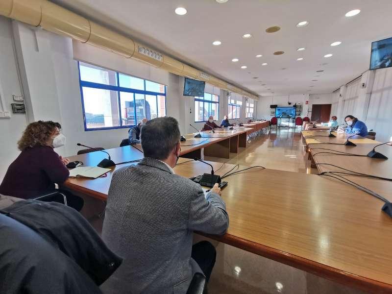 Pleno del ayuntamiento de Xirivella