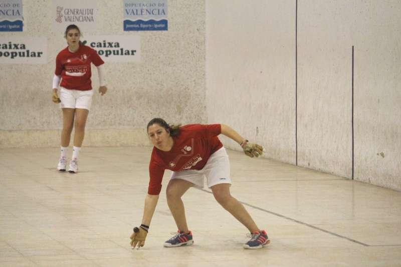 Fanni i Ana de Beniparrell, campiones del sub-23 de raspall. EPDA
