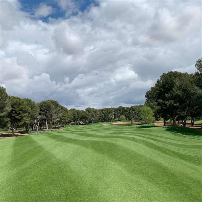 Vista parcial del Club de Golf Escorpión, en Bétera (VCalència), en una imagen promocional.