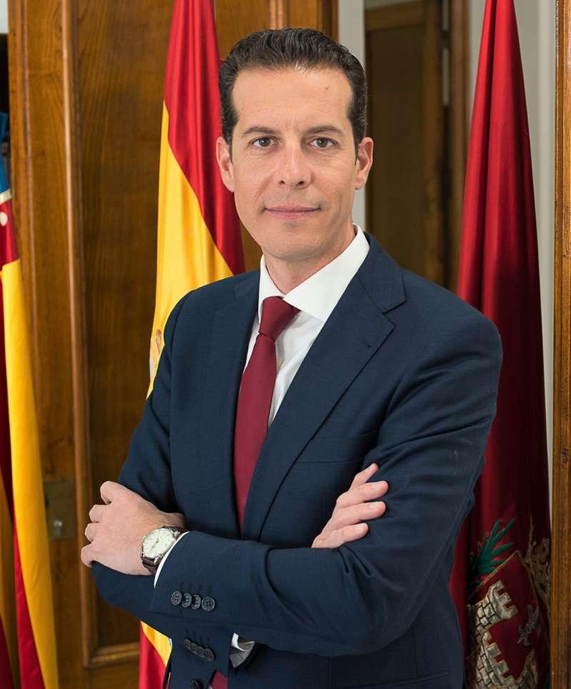 Rubén Alfaro, alcalde de Elda