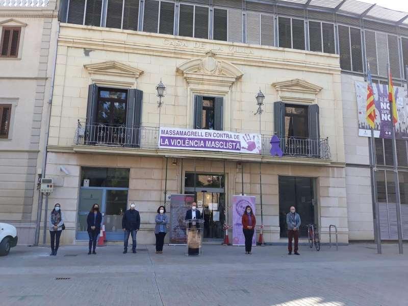 Acto institucional en Massamagrell. EPDA
