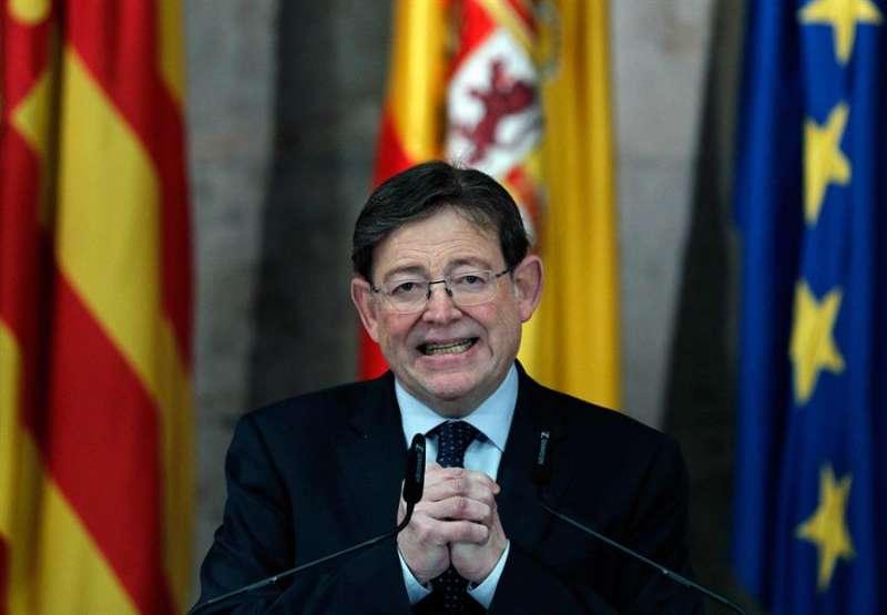 El president de la Generalitat, Ximo Puig, en una imagen de archivo. EFE