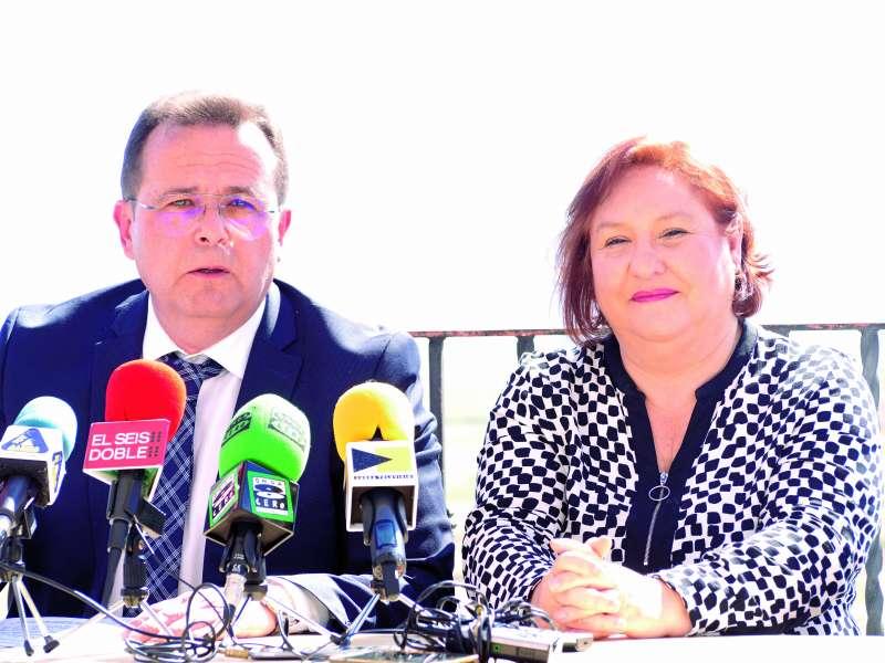 Dimas Vázquez i Manoli Egea./EPDA