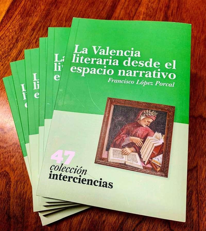 Portada de La Valencia literaria desde el espacio narrativo
