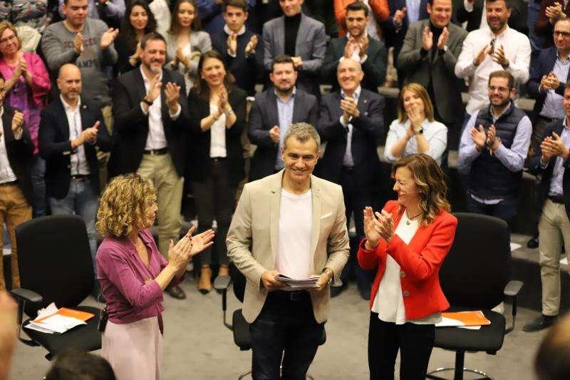 El candidato de Ciudadanos a la Generalitat, Toni Cantó, en un acto en Alicante. EFE/Ciudadanos