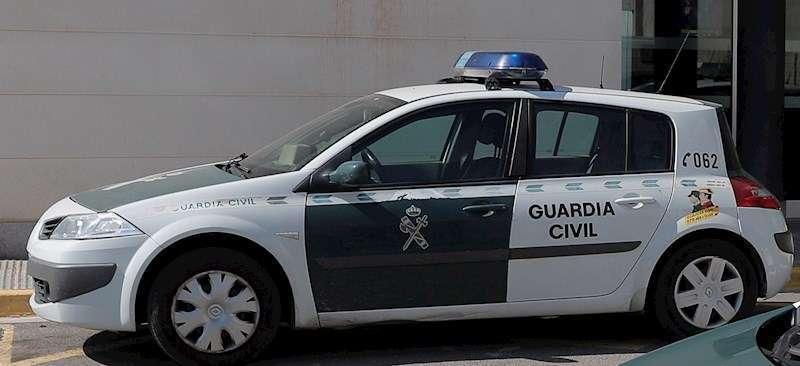 Imagen de archivo de un coche de la Guardia Civil.
